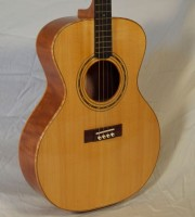 Tenor guitar prototype, closely based on a 1929 Gibson TG-0