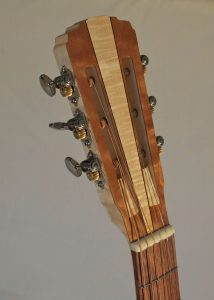 Auditorium Prototype #10X, front of headstock