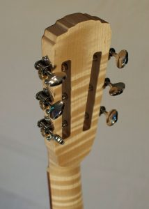 Auditorium Prototype #10X, back of headstock
