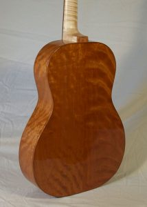 Auditorium Prototype #10X, American cherry back and sides