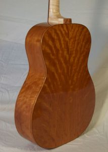 Orchestra Prototype #9X, American cherry back and sides