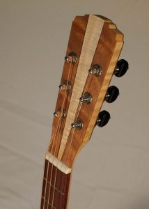 Orchestra Prototype #9X, front of headstock