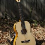 Sugar maple grand concert guitar, no. 12