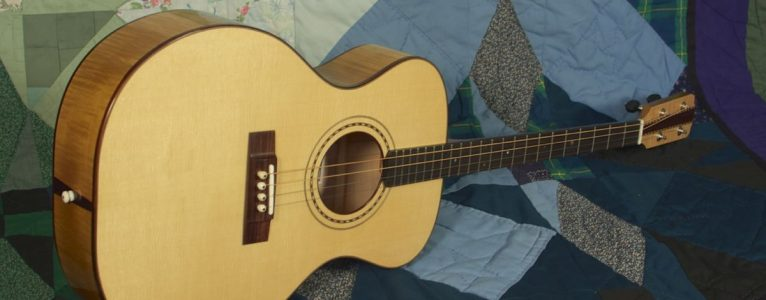 Tenor guitar in sugar maple, no. 11