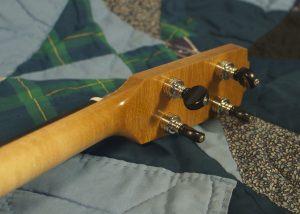 Tenor guitar in sugar maple, no. 11, Gotoh banjo tuners