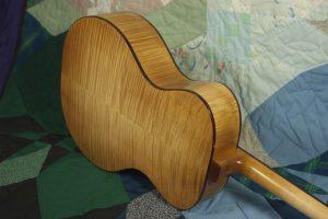 Tenor guitar in sugar maple, no. 11