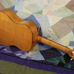 classical guitar back, complete