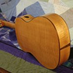 classical guitar back with end graft
