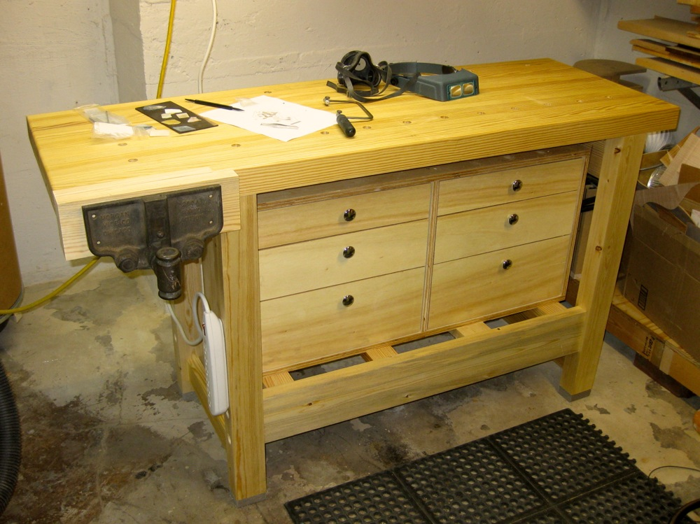Incredible Workbench Improvements Cavins Guitars Onthecornerstone Fun Painted Chair Ideas Images Onthecornerstoneorg