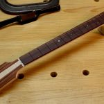 This Honduran rosewood fingerboard is gorgeous.