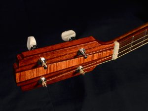 Accent woods are hormigo; fingerboard and bridge are Honduran rosewood.